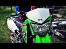 Kawasaki KLX 250 2016 обзор и тестдрайв мотоцикла / review test drive