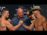 UFC 202 Official Weigh-in Rick Story vs. Donald Cerrone (im_where_the_ufc)