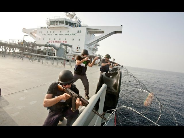 Somali Pirates VS Ships Private Security Guards