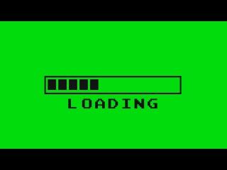 Barra de Loading #1 - Loading Bar #1 [Fundo Verde - Green Screen]