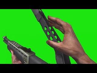 Shotgun #1 [Fundo Verde - Green Screen]