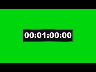 Cronômetro #1 - Chronometer #1 [Fundo Verde - Green Screen]