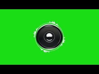Caixa de Som #1 - Speaker #1 [Fundo Verde - Green Screen]