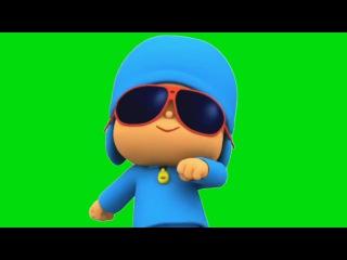 Pocoyo Dançando #1 - Pocoyo Dancing #1 [Fundo Verde - Green Screen]
