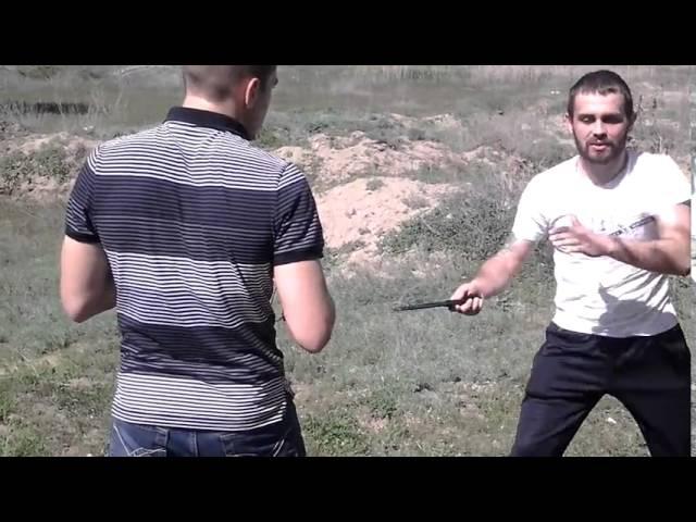 Казачий ножевой бой 11