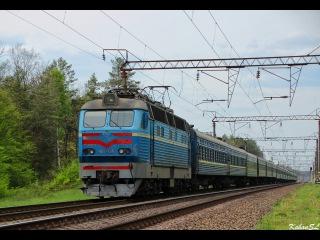 ЧС4-125 З додатковим поїздом №198 Ковель - Київ