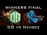 OG vs Newbee Manila Major Winners Final Highlights Dota 2