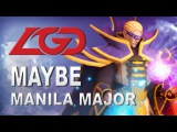 Maybe Invoker Show LGD vs VG.R Manila Major Dota 2