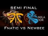 Fnatic vs Newbee Manila Major Highlights Semi Final Dota 2