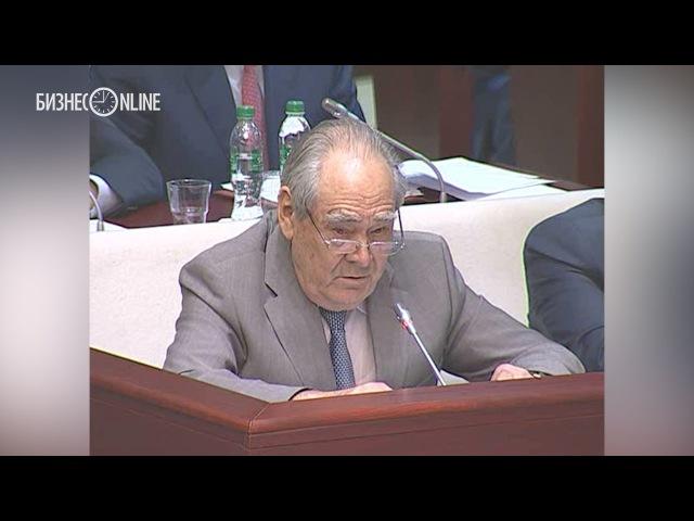 Минтимер Шаймиев выступил с критикой закона Яровой