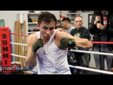 Golovkin vs. Wade Full Video- Gennady Golovkin Complete Media Workout Video