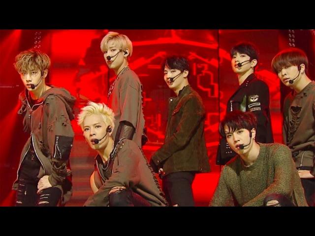 《POWERFUL》 GOT7 갓세븐 Hard Carry 하드캐리 @인기가요 Inkigayo 20161016