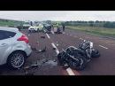 Жестокие аварии и ДТП. Подборка самых страшных мото аварий с жертвами не для сла ...