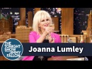 Joanna Lumley Drinks Lots of Free Champagne Promoting Absolutely Fabulous
