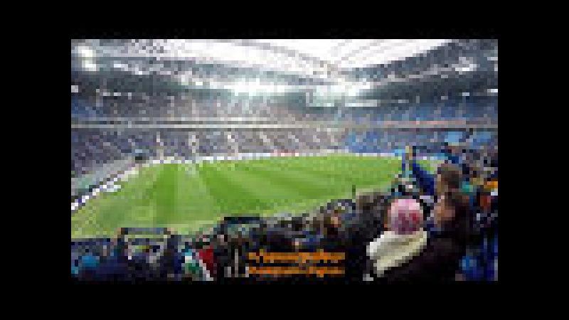 Санкт-Петербург Арена - большая прогулка по стадиону