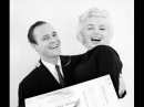 Rare Marilyn Monroe And  Marlon Brando Interview About James Joyce and Animal Improvisations  1955