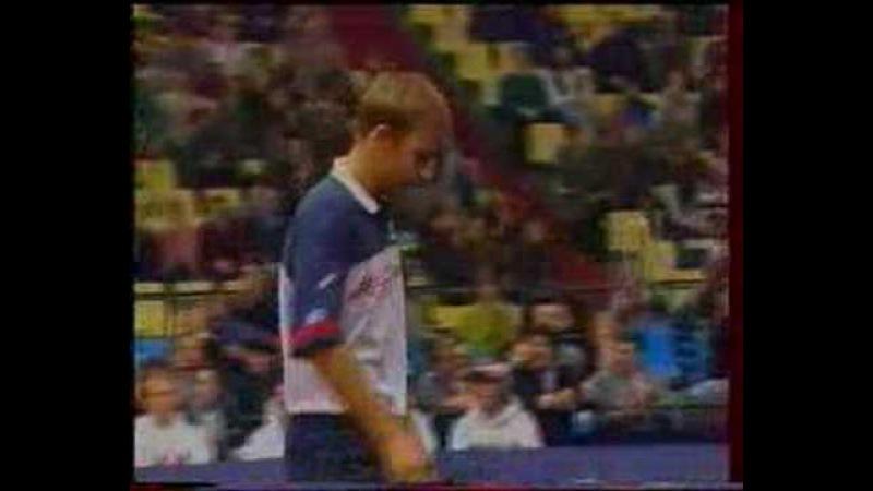 Sampras Chesnokov Davis Cup 1995