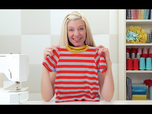 How to sew a T-shirt, for kids and adults