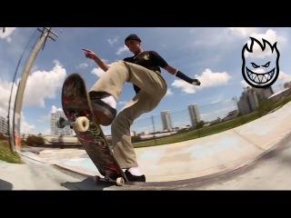 Alejandro Burnell Skates the new DLX Build Project Ledges