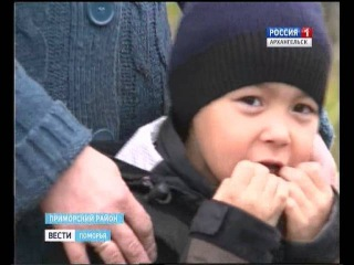 Жители Большой Корзихи под Архангельском при выезде из деревни упёрлись в отбойник