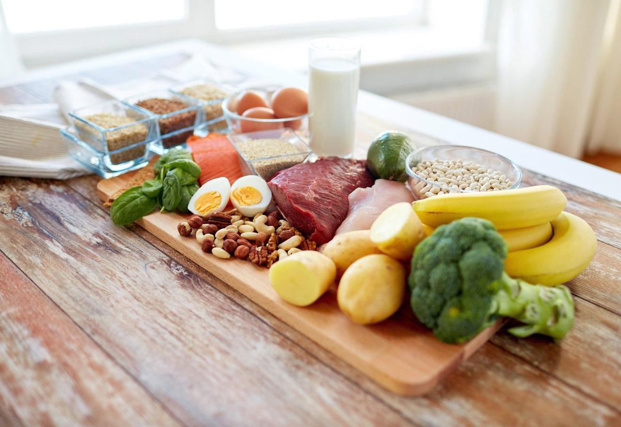 правильные продукты для диеты сбалансированным питанием