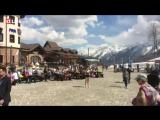 Лучшие повара Сочи готовят шашлык на высоте 1170 метров над уровнем моря