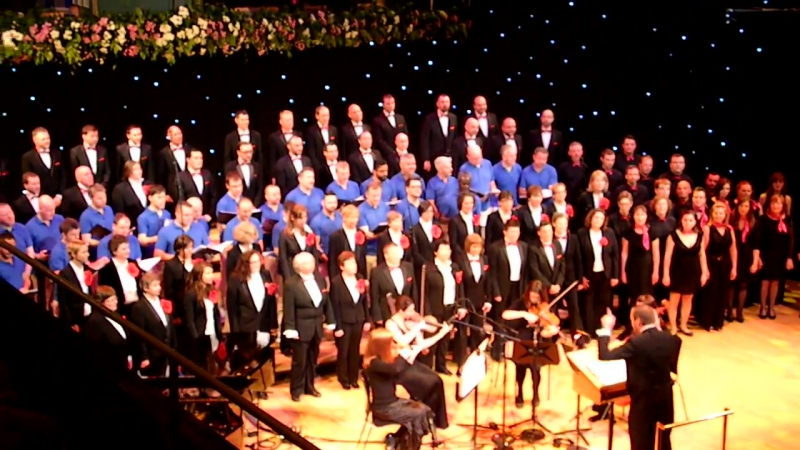 Dont stop Believin - Gloria, Dublin Gay Mens Chorus, Quire and Choral Con Fusion.