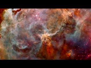 Телескоп Хаббл-взляд в глубокий космос на туманность Карина(NGC_3372d)