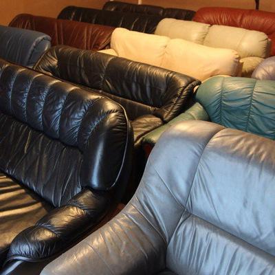 Бу мягкая мебель из натуральной кожи в москве