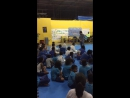 Урок дзюдо в Бразилии