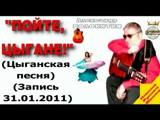 Александр Волокитин - ПОЙТЕ, ЦЫГАНЕ! (Цыганская песня) (Запись 31.01.2011)
