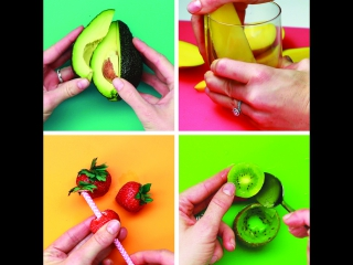7 гениальных способов чистить фрукты
