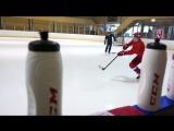 Тренировка олимпийской сборной в Швейцарии