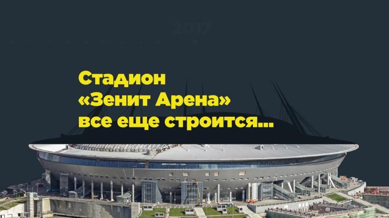 Как изменился мир, пока строится стадион