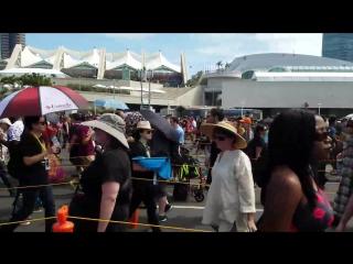 Очередь на премьеру фильма «Стартрек: Бесконечность» в Сан-Диего