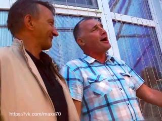 Журналистский дуэт Мих. Быстров&Влад. Лундовский - Песня про пальто... и еще кое-что.