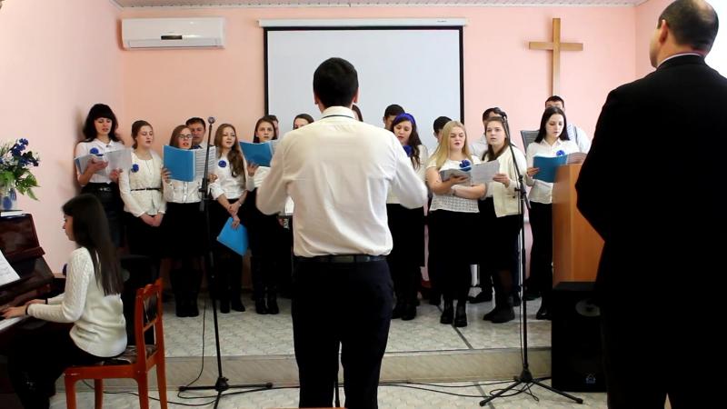 Бог пришёл и умер за меня (Молодёжный хор 2-ой Церкви г.Воронеж)