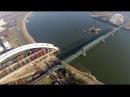 Izgradnja novog mosta na Dunavu ** Novi Žeželjev most ** Snimanje iz vazduha