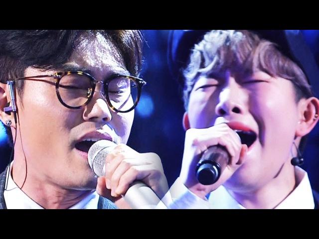 김범수, 생맥주女와 함께 절규에 가까운 미친 라이브 '하루' 《Fantastic Duo 2》 판타스54