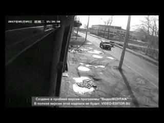 Николаевск н/А авария 9мая Советская-Попова