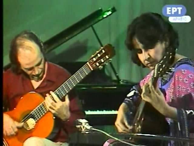 Rare Guitar Video (1974) M. de Falla: Spanish dance no.1 (La Vida Breve)-Evangelos Liza