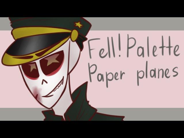 Paper planes Meme Fell Palette