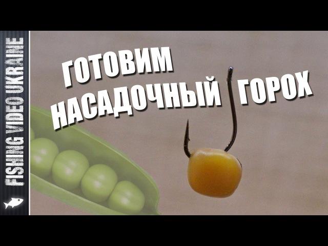 Насадочный горох для рыбалки (Карп, Лещ, Язь и др.) | Приготовление | 1080p | FishingVideoUkraine