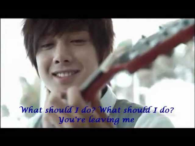 Kim Hyun Joong cover - What should I do - Love story (eng sub)