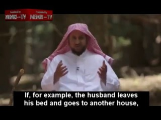 Saudi Therapist Gives Advice on Wife Beating: Women's Desire for Equality Causes Marital Strife