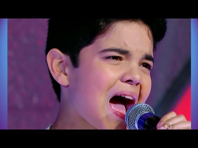 NATAN - One night only • Jovens Talentos - Raul Gil (12/10/13)