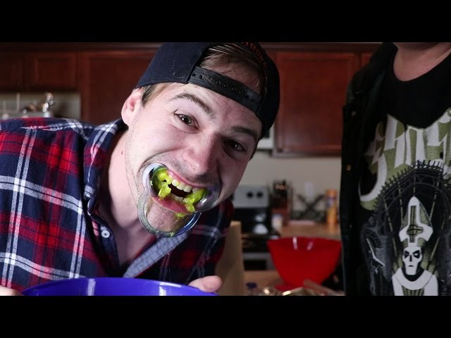 THE MOUTHGUARD CHALLENGE (VERY FUNNY)