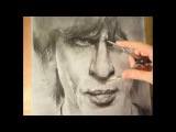 Creating portrait of Shah Rukh Khan in 65 hours. Part 1. SRK. Bollywood. Fan. HD video