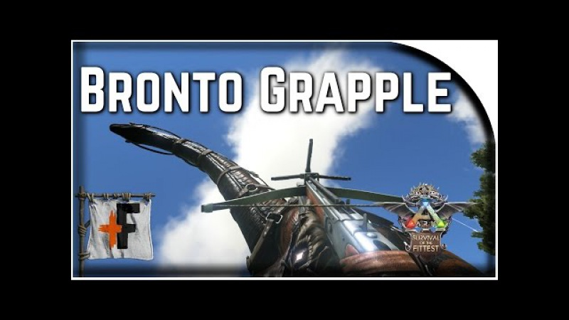 Bronto Grapple - Ark SotF - 101 Ways to Win SotF Ep 58 ( Ark Survival of the Fittest )