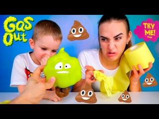 ЧЕЛЛЕНДЖ КТО ПУКНУЛ? Веселый Челлендж для Детей TALKING FART Gas Out Game Challenge Gross Poop Prank